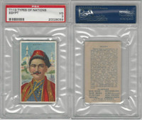 T113 Hustler, Types of Nations, 1910, Egypt, PSA 3 VG