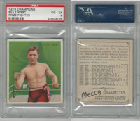 T218 Mecca/Hassan, Champions, 1910, Billy  West, Boxer, PSA 4 VGEX
