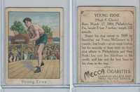 T220 Mecca Cigarettes, Champions, 1910 Boxer, Young Erne