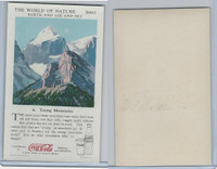 F213-3 Coca Cola, Nature Study, Earth, 1920's, #6 Young Mountains