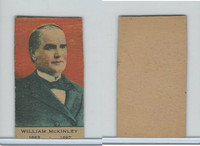 W563 Strip Card, Presidents, 1920's, William McKinnley