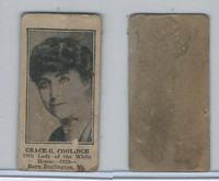 W Card, Strip Card, Ladies White of House, 1920's, Grace Coolidge