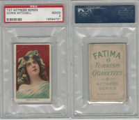 T27 Fatima, Actress Series, 1910, Doris Mitchell, PSA 2 Good