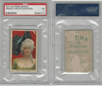 T27 Fatima, Actress Series, 1910, Grace Van Studdiford, PSA 1