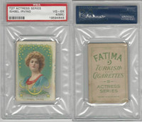 T27 Fatima, Actress Series, 1910, Isabel Irving, PSA 4 MK VGEX