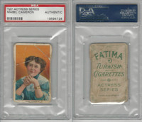 T27 Fatima, Actress Series, 1910, Mabel Cameron, PSA A