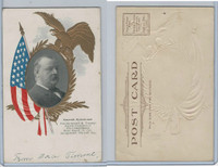 PC Post Card, Presidents of USA, 1906, Grover Cleveland