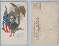PC Post Card, Presidents of USA, 1906, William McKinley