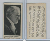 T85-3 Tobacco Products, Strollers, Movie Stars, 1922, #113 Theodore Roberts
