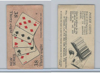 C27 Imperial Tobacco, Poker Hands, 1930, #38