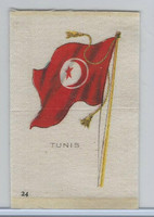 SC6 Imperial Tobacco, National Flags, 1910, #24 Tunis