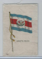 SC6 Imperial Tobacco, National Flags, 1910, #63 Costa Rica