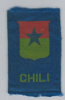 SC Canada Silk, National Emblems, 1910, Chili
