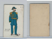 E7 Caramel, Soldier Cards, 1910, #10 U.S. General