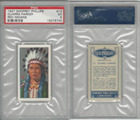 P50-78 Phillips, Red Indians, 1927, #13 Quarra Parker, PSA 5 EX