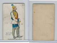E7 Caramel, Soldier Cards, 1910, #16 Russian Guard