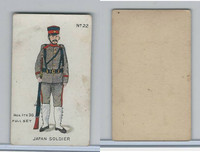 E7 Caramel, Soldier Cards, 1910, #22 Japan Soldier
