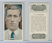 A72-18a Ardath, Cricket, Tennis, Golf Celeb., 1935, #43 AH Padgham