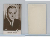 B0-0 Bridgewater, Film Stars 5th Series, 1940, #28 Charles Boyer