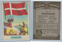 F0-0 England, Flags of the World, 1950's, #17 Denmark