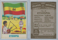 F0-0 England, Flags of the World, 1950's, #20 Ethiopia