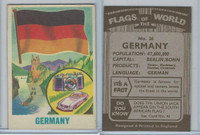 F0-0 England, Flags of the World, 1950's, #26 Germany