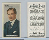 P50-112 Phillips, In The Public Eye, 1935, #45 Anthony Eden