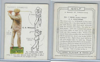 P72-40 Player, Golf, 1939, #24 C.A. Whitcombe