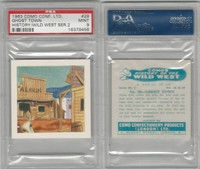 C0-0 Como, History Wild West, 1963, #29 Ghost Town, PSA 9 Mint