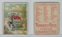 T37 Turkey Red, Automobile Series, 1910, Maxwell