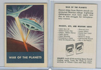 F280-3 Chex Cereal, Space Patrol, 1950's, War Of The Planets