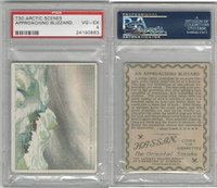 T30 Hassan Cigarettes, Arctic Scenes, 1910, Approaching Blizzard, PSA 4 VGEX