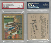 T57 Turkish Trophies, Fable Series, 1910, The Blind Man and the Whelp, PSA 4