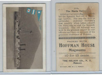 T40 Hoffman House Little Cigars, Battleships, 1910, #17 Maria Teresa