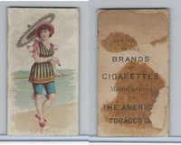 T406 American Tobacco Company, Fancy Bathers, 1910, Long Beach
