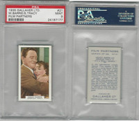 G12-85 Gallaher, Film Partners, 1935, #21 Barrie & Spencer Tracy, PSA 9 Mint