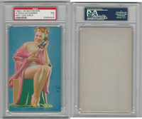 W424-2e Mutoscope, Hot-Cha Girls, 1943, A Popular Number, PSA 7 NM