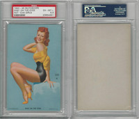 W424-2e Mutoscope, Hot-Cha Girls, 1943, Easy On The Eyes, PSA 6.5 EXMT+