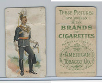 T413 American Tobacco Co., Military Uniforms, 1910, #4 7th lancers