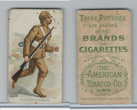 T413 American Tobacco Co., Military Uniforms, 1910, #10 16th Bedfordshire