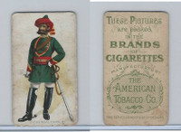 T413 American Tobacco Co., Military Uniforms, 1910, #13 2nd Bengal Cavalry