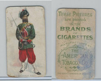 T413 American Tobacco Co., Military Uniforms, 1910, #14 2nd Belooch Regt.