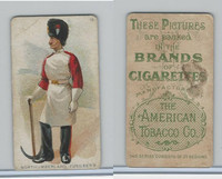 T413 American Tobacco Co., Military Uniforms, 1910, #15 Northumberland Fusileers