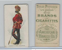 T413 American Tobacco Co., Military Uniforms, 1910, #18 Queen's Own Madras