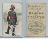 T413 American Tobacco Co., Military Uniforms, 1910, #19 6th Bengal Cavalry