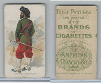 T413 American Tobacco Co., Military Uniforms, 1910, #23 2nd Belooch Regt.