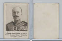 C98 Imperial Tobacco, World War I, 1916, #22 Prince Alexander of Teck