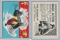 W510-3 Abbey, Magic Action Trading Cards, 1964, Horse Riding