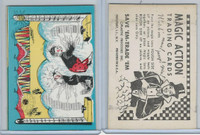 W510-3 Abbey, Magic Action Trading Cards, 1964, Circus Clowns Hammer