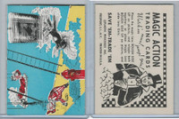 W510-3 Abbey, Magic Action Trading Cards, 1964, Clowns Firefighting